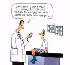 pharmacy humor | Side Effects