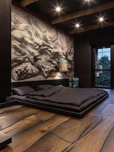 Шикарная спальня #flashnika #мебель flash-nika-mebel.ua Luxury Bedroom Design, Home Room Design, Dream Home Design, Master Bedroom Design, Modern House Design, Interior Design, Luxury Homes Dream Houses, Luxurious Bedrooms, Amazing Bedrooms