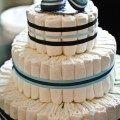 Diaper Cake DIY Instructions