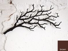 """Tree Branch - 24""""W x 12""""H by Hangups & Baggage"""
