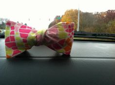 Colorful Pattern Bow Tie by Phi Ties
