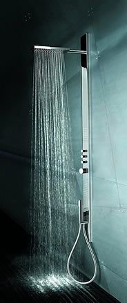 Fantini Acquatonica shower tower _options for shower spaces