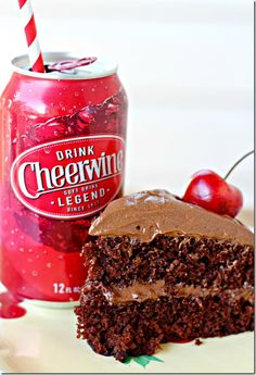 Cheerwine Chocolate Cake!