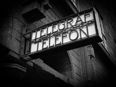 A sign of simpler times, and the faded days of our telecommunications past. First of two. #Oslo #Norway #Norge #telephony #ArtDeco #telegraph #telegraf #telephone #telefon #sign #BW #blackandwhite #travel #travelgram #ig_worldclub #igtravel #instatravel #wanderlust #Latergram #media #simplertimes #oldendays #telecommunications #Europe #Scandinavia #Scandinavian #InstaOslo #InstaNorway #InstaNorge #signage