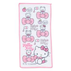 Hello Kitty half petit towel 4P set (Ribbon) Sanrio online shop - official mail order site