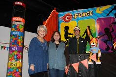 Coach and Checkers welcome new friends to G-Force VBS! cokesburyvbs.com