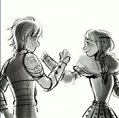 For the dancing and the dreaming (Hiccup and Astrid) ♥♡