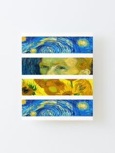 """Vincent Van Gogh"" Mounted Print by Wonderweiss 