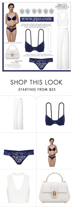 """""""PRETTY POWERFUL"""" by ppz-brand ❤ liked on Polyvore featuring Alexis, Victoria Beckham, H&M and Dolce&Gabbana"""