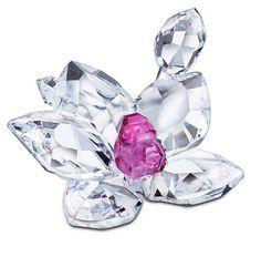 Swarovski Crystal Orchid Figurine