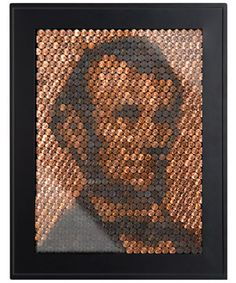 #DIY Lincoln Penny Portrait