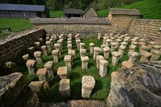 Deep in the countryside lie the remains of one of the grandest Roman dwellings in Britain.