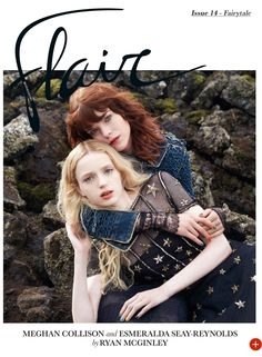 Flair Magazine #14 | Meghan Collison & Esmeralda Seay-Reynolds by Ryan McGinley [Editorial]