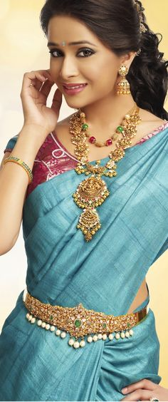Modern take on the traditional South Indian look