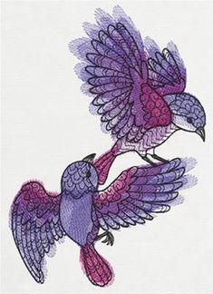 urbanthread Doodle Sparrows_image