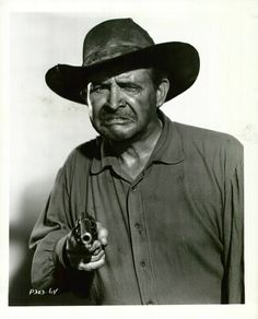 "~ Barton MacLane ~ ""Outlaws"" as a Marshal & appeared often of ""Laramie"" & Gunsmoke""....Playing bad didn't get any better...."