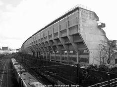 lexandra Road housing estate; brutalist architecture in London, England, UK