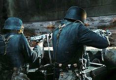 Duitse soldaten tijdens D-day