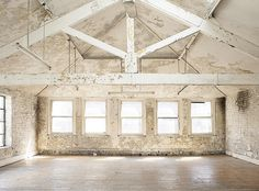 """oxcroft: """" // Whitewashed Warehouse // // gallery.oxcroft.com // """""""