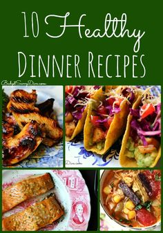 -Looking for a delicious dinner recipe - easy and full of flavor BUT also healthy here is your list -10 Healthy Dinner Recipes Roundup #healthy #recipe #budgetsavvydiva via budgetsavvydiva.com