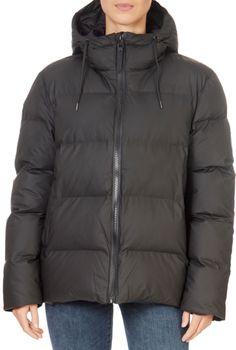 Rains is a contemporary rainwear lifestyle brand creating waterproof designs for the global citizen. Long Grey Coat, Black Puffer Coat, Cream Shorts, Belted Coat, Rain Wear, Winter Jackets, London, Clothing, Kleding