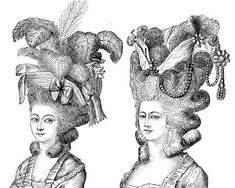 It was popularly said that Marie-Antoinette was Queen of the coiffure before becoming Queen of France, and her husband's accession to the throne was hailed ...