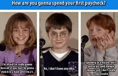 harry potter funny pictures. It's great because they ARE their characters.