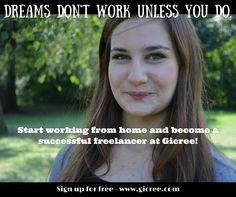 Gicree is a unique freelancer online jobs, which focuses on small tasks that need to be done. People around the globe seeking for earn extra income as they #WORKFROMHOME , by offering their services in form of jobs. You can buy or sell services for fixed prices of $5, $10, $20, $50 depending on the type of the job.