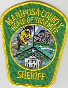 Mariposa county Sheriff Calif