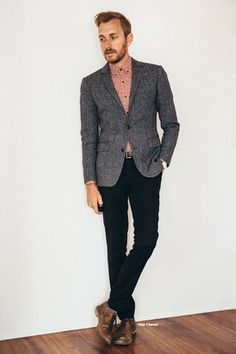 September 21, 2013. Wedding. Suit: Dogstooth - ASOS -... | Stay Classic | Bloglovin'
