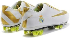 Popular New Nike Mercurial Vapor SuperFly III Elite FG Safari Real Madrid Soccer Team Cleats In White Gold1