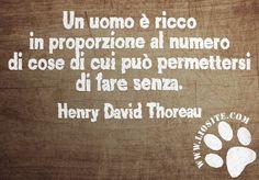 Henry David Thoreau -