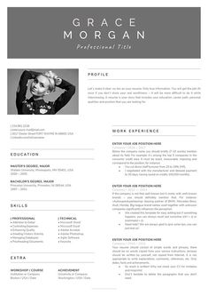 Resume Templates In Word 2018 Microsoft Word Resume Template  Creative Resume Design With Photo .