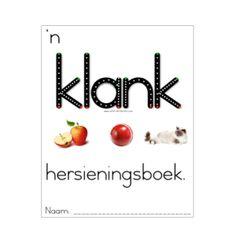 'n Klanke / Woordeskatboek - Teacha! Afrikaans, Teaching Resources, Homeschool, Teacher, Student, Letters, Math, Learning, Grade 2