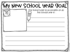 Getting to Know You and Goal Setting Activities for the beginning of the school year. Use in a school counseling program or a regular classroom setting. Beginning Of The School Year, New School Year, I School, Elementary School Counseling, School Counselor, Elementary Schools, Self Esteem Activities, Counseling Activities, Goal Setting Activities
