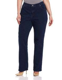 nice Women's Plus-Size Relaxed Fit Straight-Leg Jean - For Sale