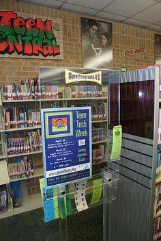 Teen space at Schimelpfenig library