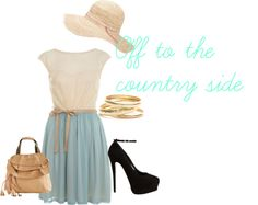 """""""Off to the country side..."""" by reese-o on Polyvore"""