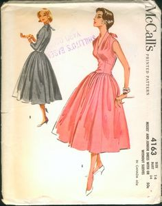 McCall's 4163 - 1950's fashion