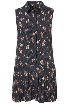 Topshop Spot Floral Tennis Playsuit    Price: $96.00 at us.topshop.com  This playsuit has a decidedly preppy 'tennis' inspired design and all over floral print. Perfect for …