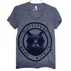 Cattitude t-shirt - Razzia
