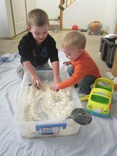 Cloud Dough Recipe. Sensory Processing Disorder Parent Support