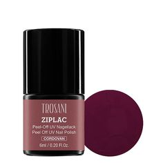 Trosani ZIPLAC UV Peel-Off Nail Polish Cordovan #marsala