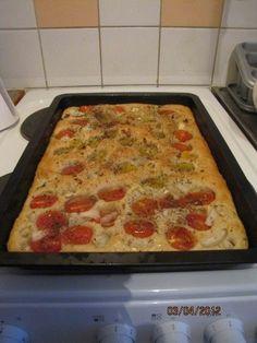 Italialainen leipä, focaccia