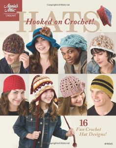 Hooked on Crochet! Hats (Annie's Attic: Crochet) by Kimberly Kotary, http://www.amazon.co.uk/dp/1596352299/ref=cm_sw_r_pi_dp_kpIgrb05BP5GD