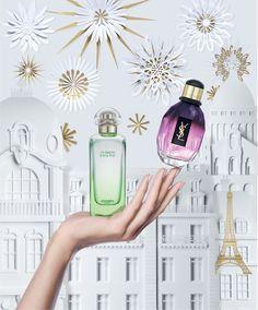 #ParisLifestyle : #Hermes eau de toilette, Jardin sur le Toit ; #YvesSaintLaurent #YSL eau de toilette, Parisienne. #Fragrances #Perfume #Women #Beauty