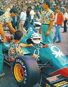 Riccardo Patrese, Alfa Romeo 185T, 1985.