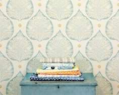 Galbraith & Paul's Tantalizing Textiles - The new Lotus collection available in custom colors at walnut wallpaper #wallpaper