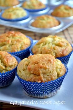 For this month's Baking Eggless Group Challenge, I selected Banana muffins from Allrecipes. This is a very easy recipe and the substitution is also very easy. As this is vacation t… Egg Free Recipes, Muffin Recipes, Baby Food Recipes, Cake Recipes, Frosting Recipes, Dessert Recipes, Eggless Desserts, Eggless Recipes, Eggless Baking