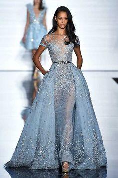 Zuhair Murad Spring/Summer 2015 | Fashion, Trends, Beauty Tips & Celebrity Style Magazine | ELLE UK